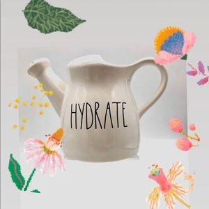 Rae Dunn Hydrate LL watering can brand new